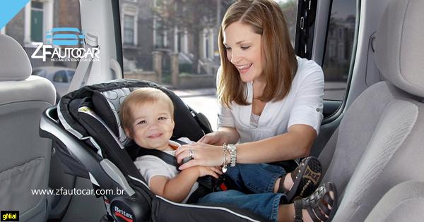 11 Dicas que você precisa saber na hora de transportar crianças e bebês no carro.
