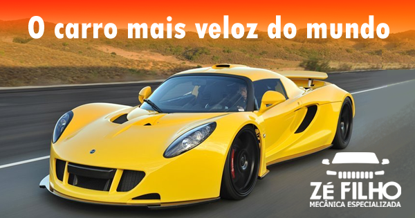 O carro mais veloz do mundo